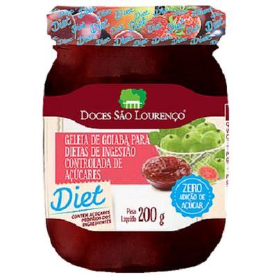 Kit 4 Geleias Diet SÃO LOURENÇO 200g