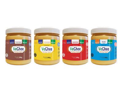 kit 4 Manteiga Ghee Veghee variadas 200g