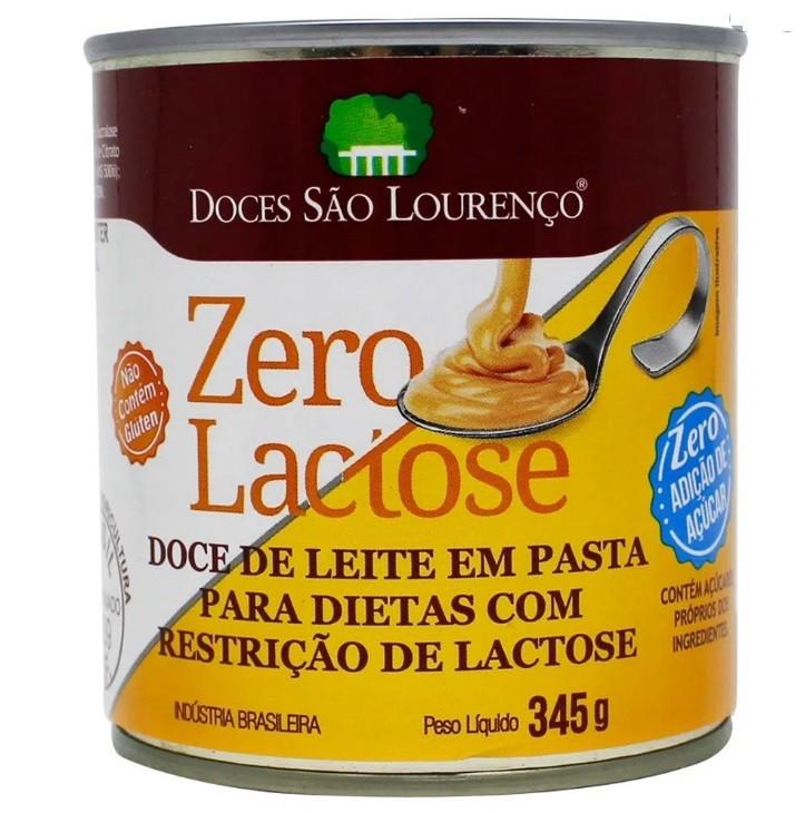 kit 6 und Doce Leite Zero Lactose e Açúcar S LOURENÇO 330g