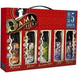 Kit de Cervejas DAMA BIER 5 Long Neck
