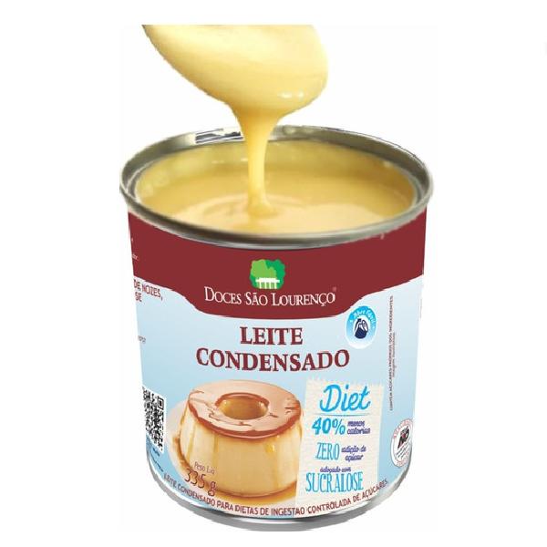 Sobremesa Leite Condensado Diet SAO LOURENCO 335g