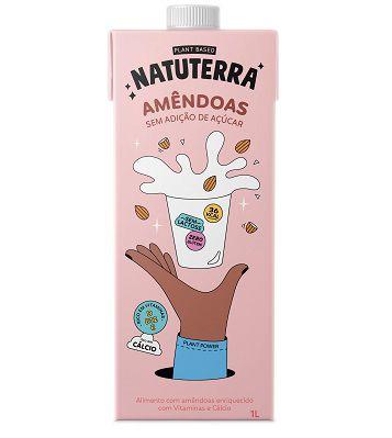 Leite de Amêndoa NATUTERRA 1 Litro