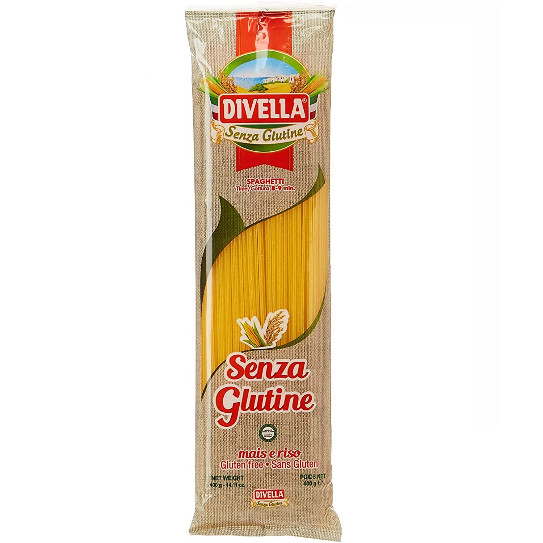 Macarrão Divella Spaghetti Senza Glutine 400g