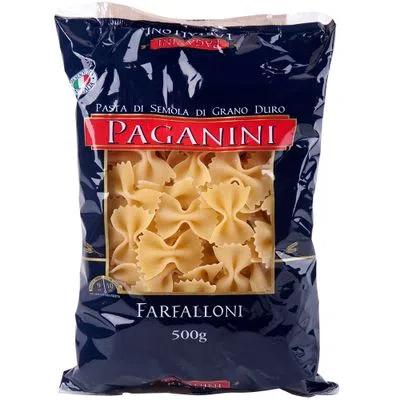 Macarrão Italiano Farfaloni PAGANINI 500g
