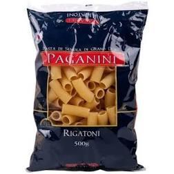 Macarrão Italiano Rigatoni PAGANINI 500g