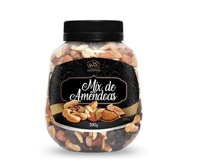 Mix de Amendoas WS NATURAIS 390g