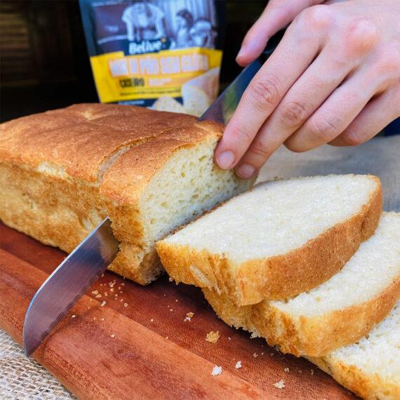 Mix para Pão Caseiro BELIVE sem gluten 300g