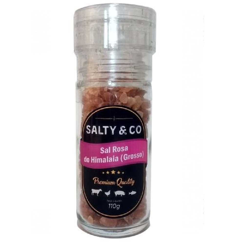 Moedor Sal Rosa 110g SALTY & CO