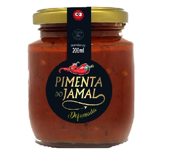 Molho de Pimenta Defumada JAMAL 200ml