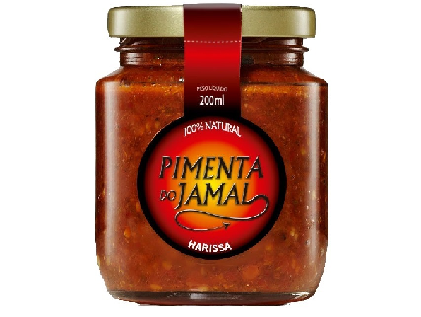 Molho de Pimenta Harissa JAMAL 200ml