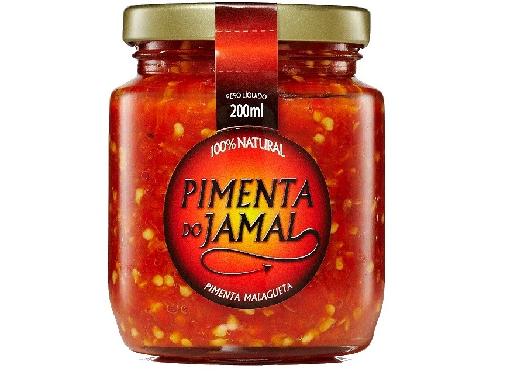 Molho de Pimenta Malagueta JAMAL 200ml