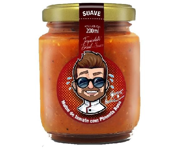 Molho de Tomate com Pimenta Rosa JAMAL 200ml