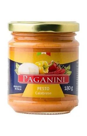 Molho Pesto Calabrese Creme PAGANINI 180g