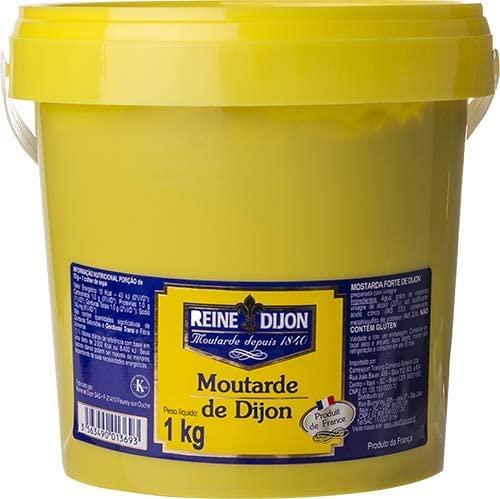 Mostarda Francesa Forte Reine Dijon Balde 1 Litro