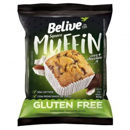 Muffin BELIVE Coco com Chocolate 10x40g