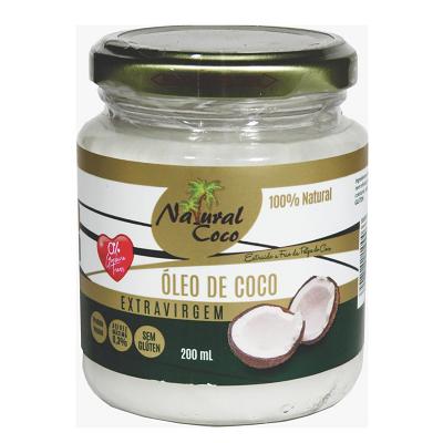 Oleo de Coco NATURAL COCO Pote 200ml