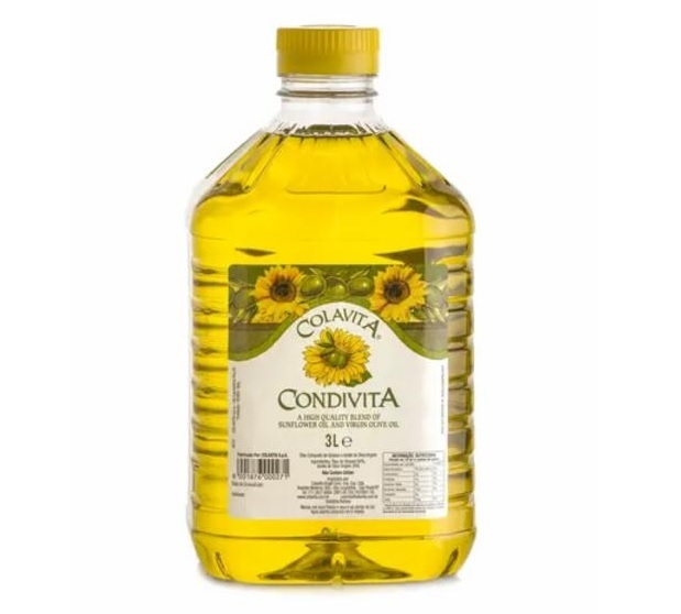 Óleo de Girassol com Azeite de Oliva COLAVITA 3L