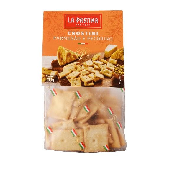 6x Crostini Parmesão e Pecorino LA PASTINA 200g