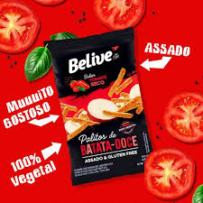 Palito de Batata Doce Tomate Seco BELIVE 35g (5 Unidades)