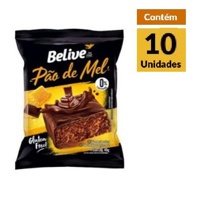 Pao de Mel BeLive Display 10X45g