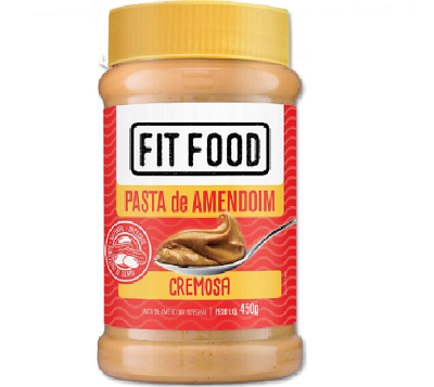 Pasta de Amendoim Cremoso FIT FOOD 450g