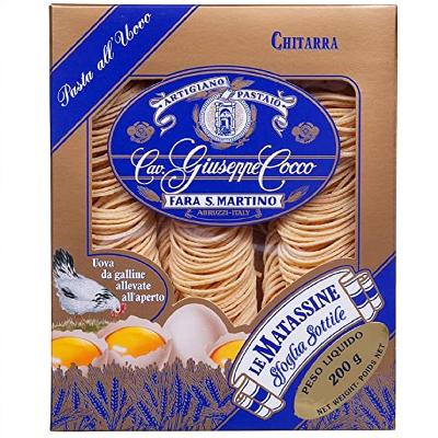 Pasta di Semola Chitarra all'uovo GIUSEPPE COCCO 200g