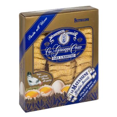 Pasta di Semola Fettuccine all'uovo GIUSEPPE COCCO 200g
