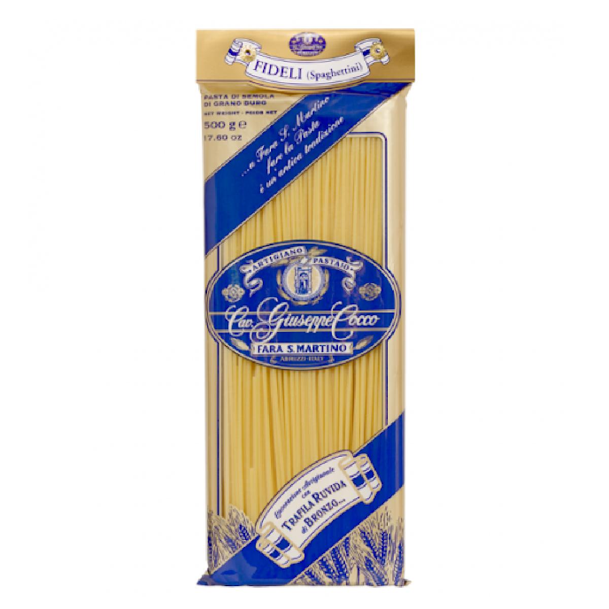 Pasta di Semola Fidelli GIUSEPPE COCCO 200g
