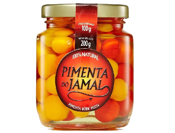 Pimenta Bode Mista em Conserva JAMAL 200g