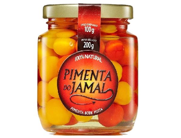 Pimenta Dedo de Moça Verde em Conserva JAMAL 200g