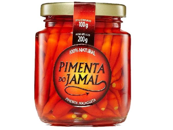 Pimenta Malagueta em Conserva JAMAL 200g
