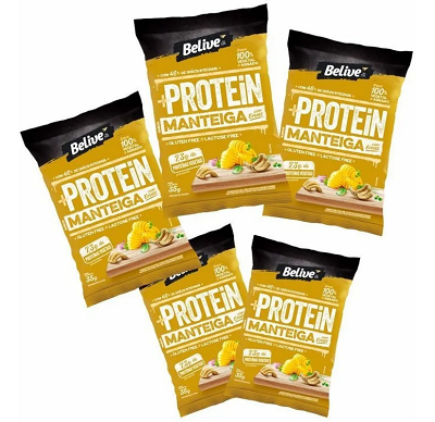 Protein Snack Manteiga com Ervas Belive 35g ( 5 unidades )