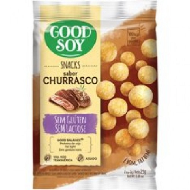 Snack de Soja Churrasco GOODSOY 25G