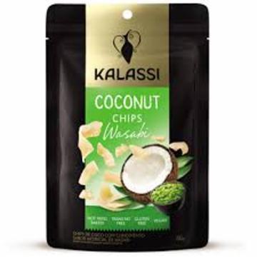 Snack KALASSI Coconut Chips Wasabi 40g