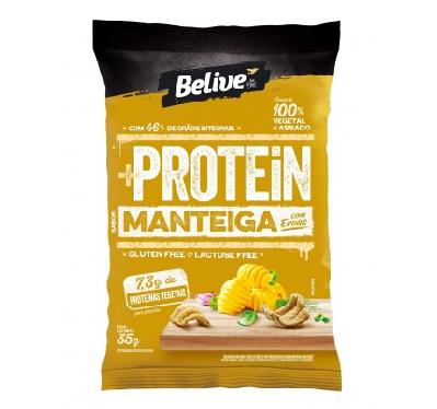 Snack +Protein Manteiga com Ervas Belive 35g