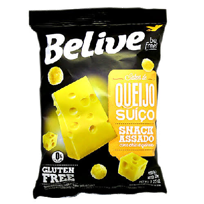 Snacks Sabor Queijo BELIVE 35g