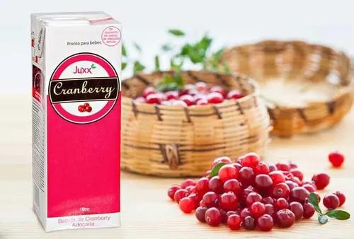 Suco de Cranberry JUXX 1 Litro (6 Unidades)