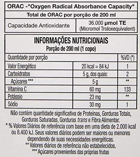 Suco de Cranberry Zero JUXX 1 Litro (6 unidades)