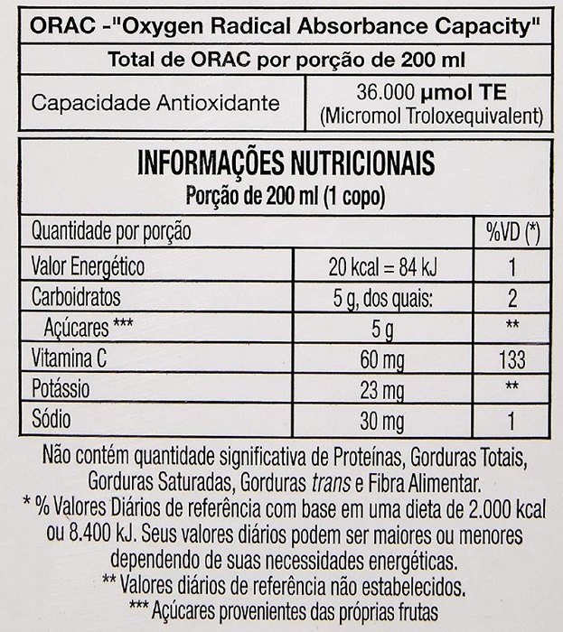 Suco De Cranberry Zero Juxx 330ml