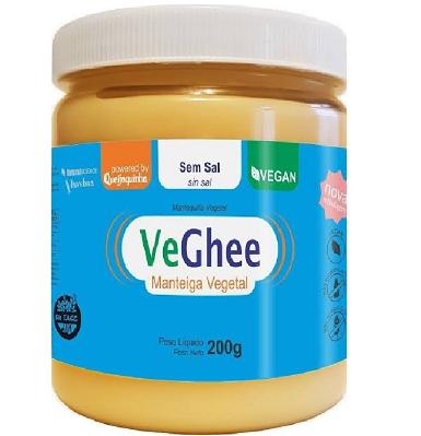 VeGhee Manteiga Vegetal sem sal 200g