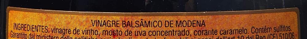 Vinagre Balsâmico de Modena COLAVITA Rolha 250ml