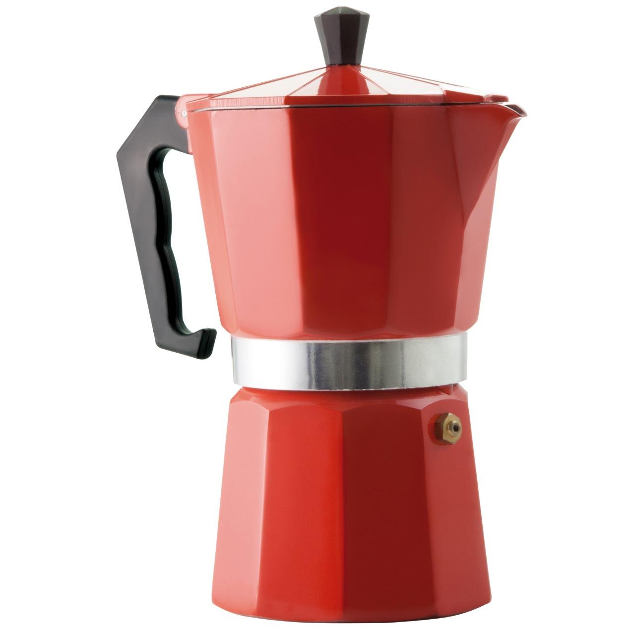 CAFETEIRA VERMELHA P/ 6 CAFEZINHOS 0 AF06V