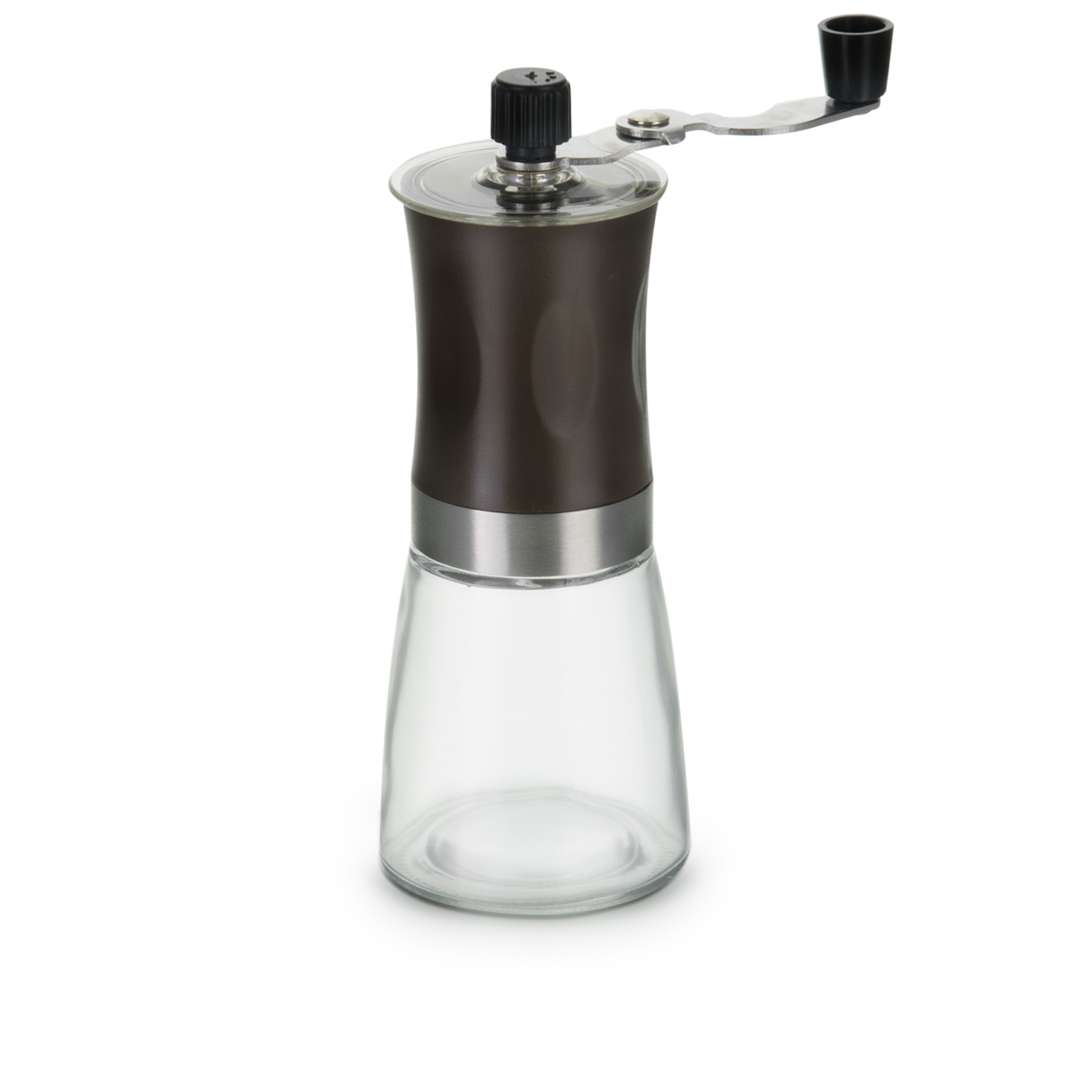 MOEDOR CAFÉ MANUAL VIDRO INOX - 7261 - AF20218