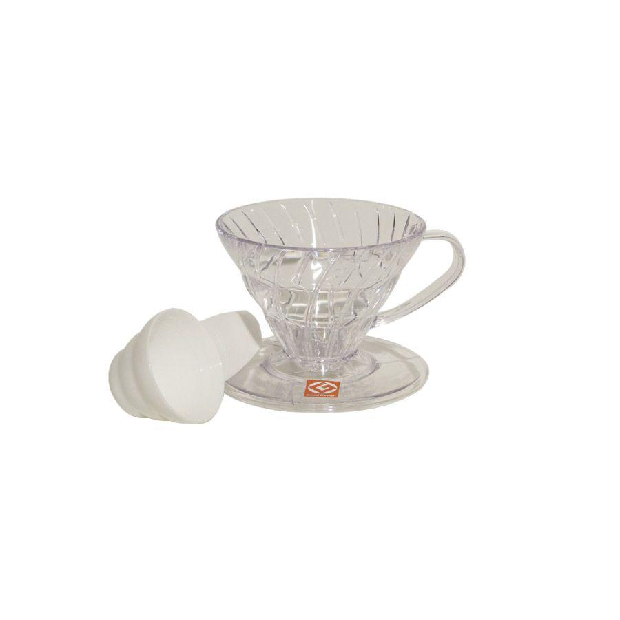 Suporte para Filtro de Café V60-01 Transparente – Hario