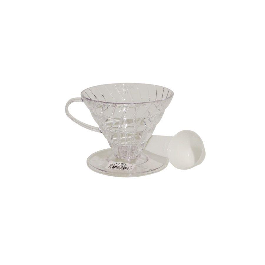 Suporte para Filtro de Café V60-02 Transparente – Hario