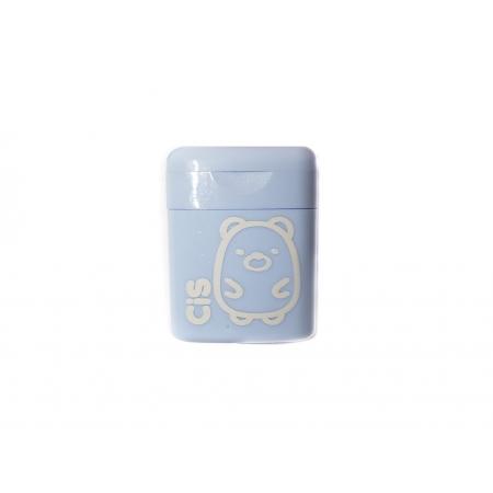 Apontador CIS Pastel - Azul