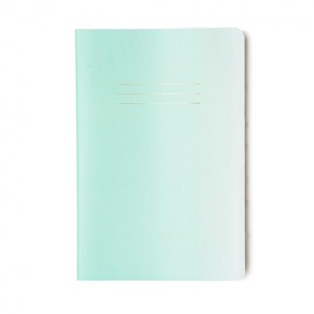 Caderneta Verde Pastel Degrade