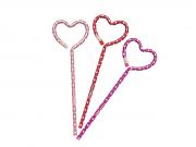 Lápis Face Love Heart - Rosa