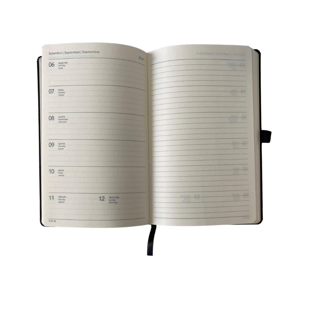 Agenda Cotton Azul Papertalk Maxi 2021