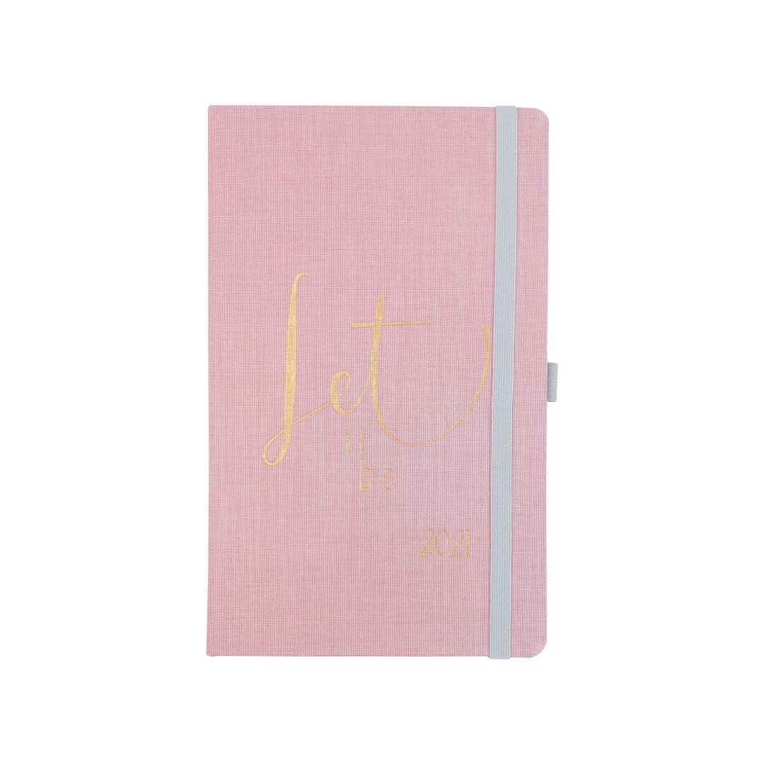 Agenda Cotton Rosa Papertalk Maxi 2021